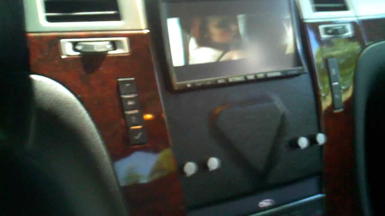 Cadillac Escalade EXT W Double Din Amp Subs YouTube
