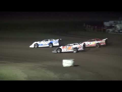 IMCA Late Model Season Championship feature Benton County Speedway 8/20/17