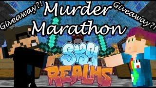 SSundee VS MrCrainer! Murder Marathon!!! Giveaway?