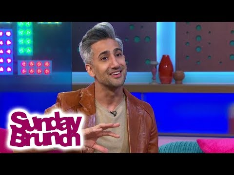 Queer Eye's Tan France Is Fashion Conscious When Going to the Supermarket   Sunday Brunch