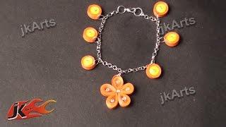 DIY Paper Quilling Bracelet /  Friendship Belt | How to make | JK Arts  366