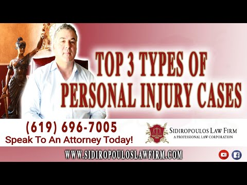 san-diego-personal-injury-lawyer:-top-3-types-of-personal-injury-cases