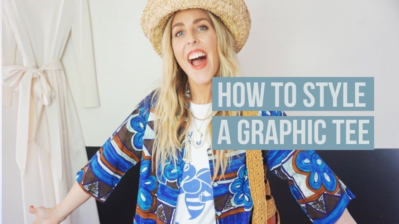 HOW TO STYLE A GRAPHIC TEE// THE ALWAYS PLAY DRESS UP TEE