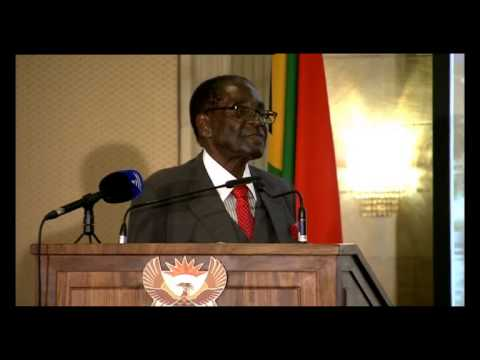 SA-Zimbabwe Business Forum -  Mugabe's speech