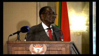 sa zimbabwe business forum mugabe s speech