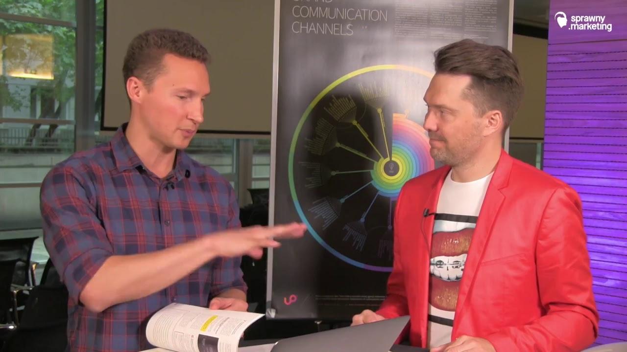 Live z Tomasz Graszewicz z Agencja Up twórcą Mapy kanałów komunikacji.