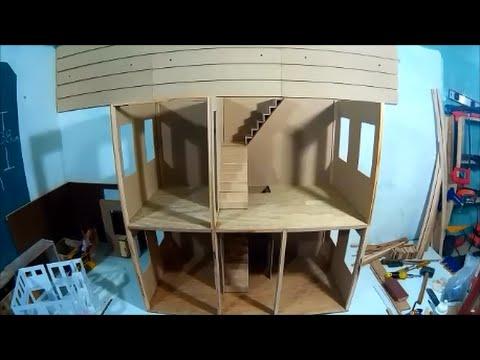 Como hacer nuestra casa de muecas segundo piso  YouTube