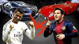 Ronaldo against Messi: who car is cooler?