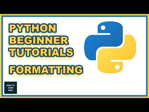 Python Beginners Tutorial - Code Formatting thumbnail