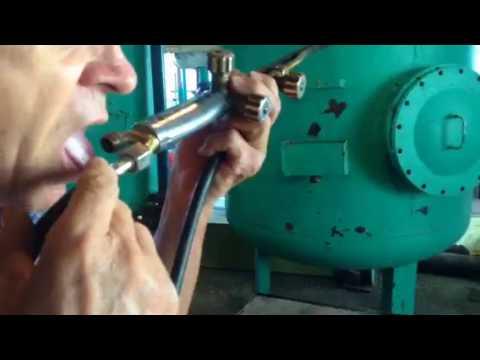 Как настроить газовый резак на пропане