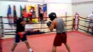 Shotgun Boxing Crew Sparring