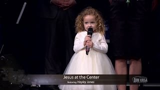 Jesus at the center of it all (4 yr old Hayley Jones)