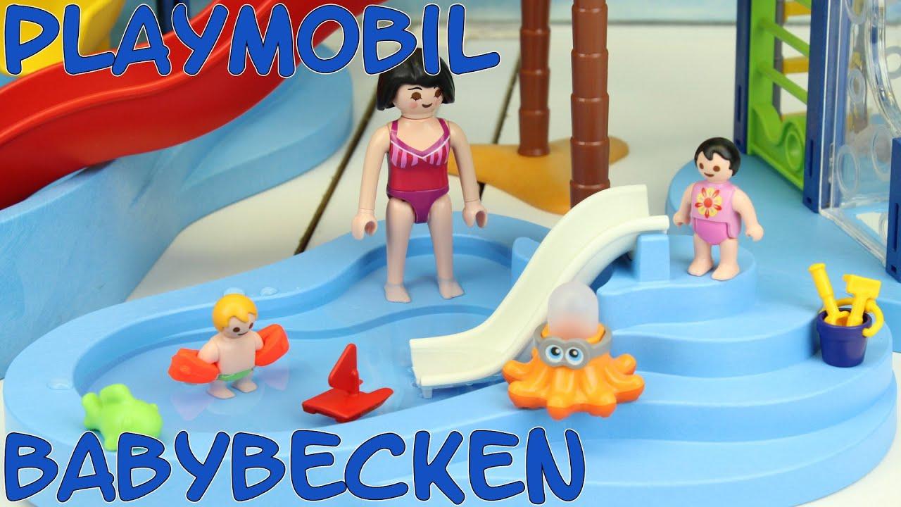 playmobil babybecken 6673 neuheit für aquapark schwimmbad