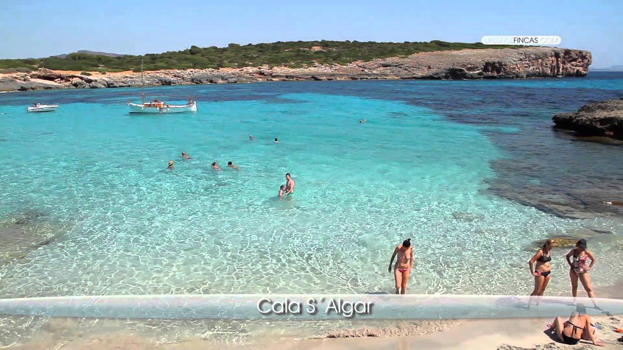 Porto Cristo Karte.Mallorca Strand Südosten Cala S Algar Porto Colom
