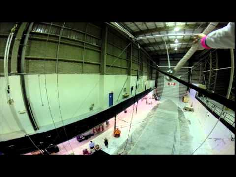 20150130 Onesies Friday Flying Trapeze Class
