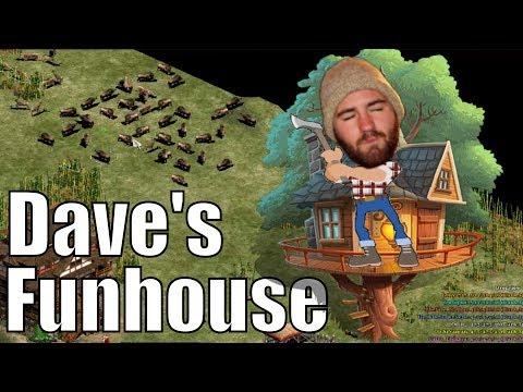 AoE2  Daves Funhouse Regicide FFA Madness