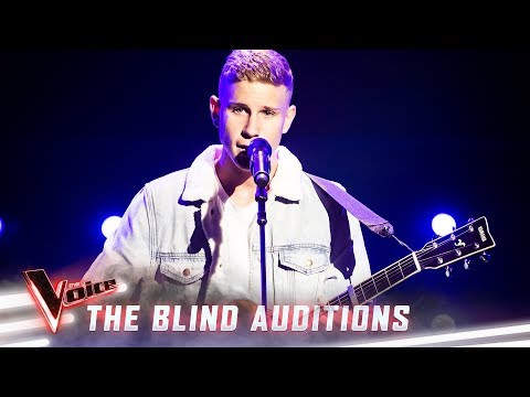 The Blind Auditions: Mitch Paulsen Sings 'thank U, Next' | The Voice Australia 2019