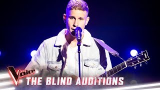 The Blind Auditions: Mitch Paulsen sings 'thank u, next' | The Voice