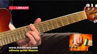Radiohead - Just - Guitar Performance with Jamie Humpries Licklibrary