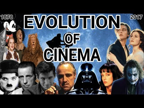 The Evolution Of Cinema (1878 - 2017)