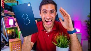 CHEGOU!!!! Xiaomi Mi 8 - Unboxing