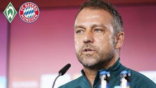 🎙️ Benjamin Pavard kehrt zurück | Pressetalk mit Hansi Flick | Werder Bremen - FC Bayern