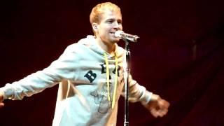 Backstreet Boys- Masquerade @ Soundcheck Oslo Spektrum 5 dec 2009