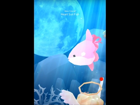 Abyssrium tap tap fish unlock the heart sun fish youtube for Tap tap fish