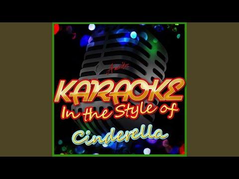 Bibbidi Bobbidi Boo (In the Style of Cinderella) (Karaoke Version)