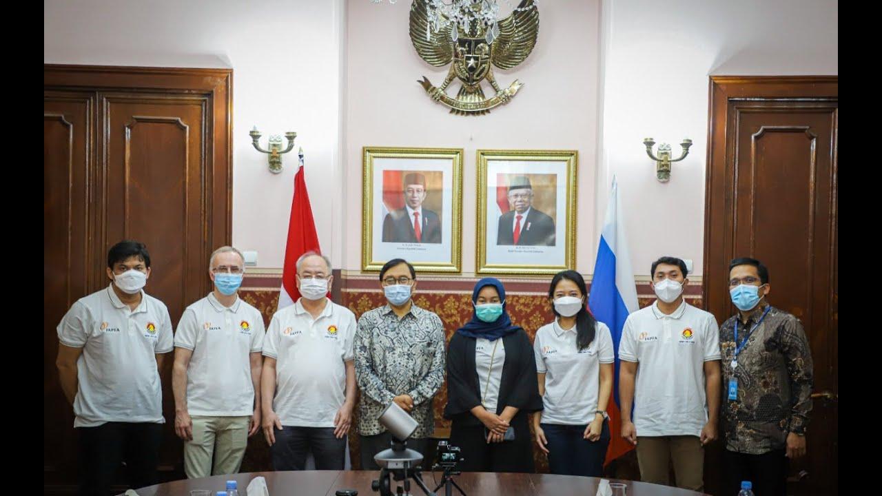 Tim Indonesia Sowan ke KBRI Moskow