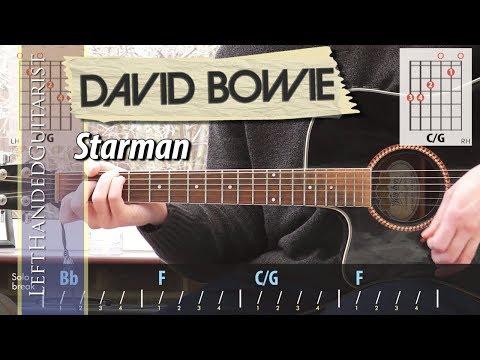 David Bowie - Starman | guitar lesson