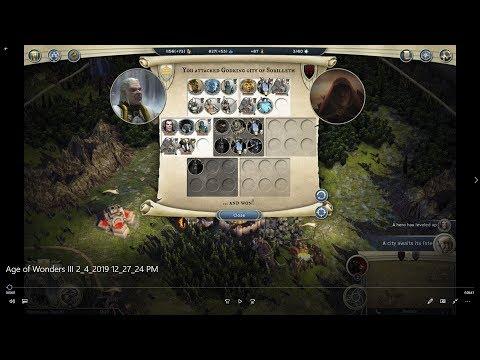 Age of Wonders III High Elf Theocrat VS High Elf Necromancer |