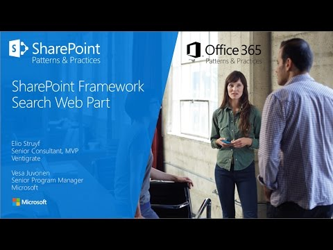 PnP Webcast - Building a sample search web part with SharePoint Framework  using React