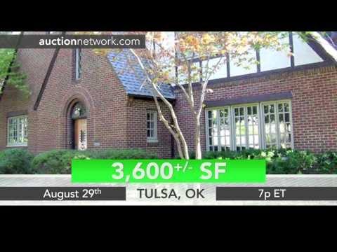 Beautiful Home Tulsa, OK Auction - 1208 E 26th St.