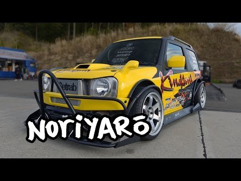 Drift a Suzuki? SR20-powered all-custom Suzuki Jimny drift car by Kinokuni