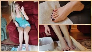 How To: At Home Pedicure!