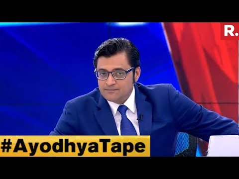 Let Indians Decide On Ayodhya #AyodhyaTape   The Debate With Arnab Goswami