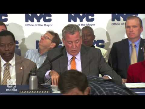 Mayor de Blasio Signs Tobacco Bills and Holds Media Availability