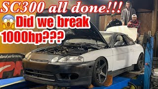 SC300 out powered 2 supras on the dyno!!!