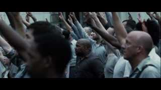 The Hunger Games: District 11 Riot Scene  Hd