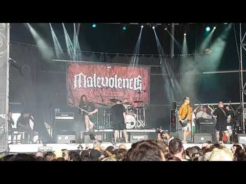 Malevolence - condemned to misery @ resurrectionfest 2017