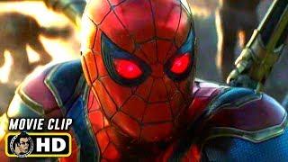 AVENGERS: ENDGAME (2019) Spider-Man Activates Instant Kill [HD]