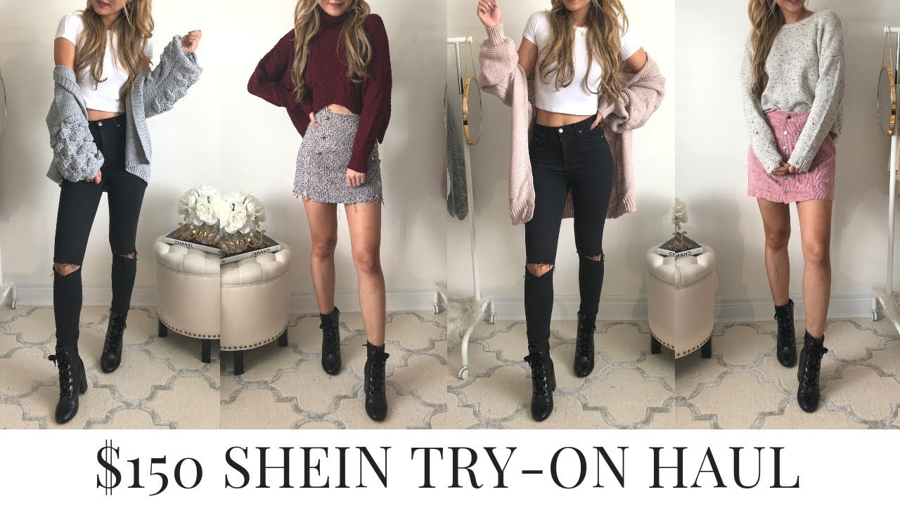 101bbedae7 SHEIN Try-On Clothing Haul 2018 + Review - YouTube