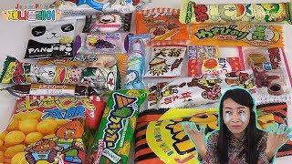 Jenny play 제니 장난감 놀이 일본과자 어디까지 먹어봤니 불량식품 후기