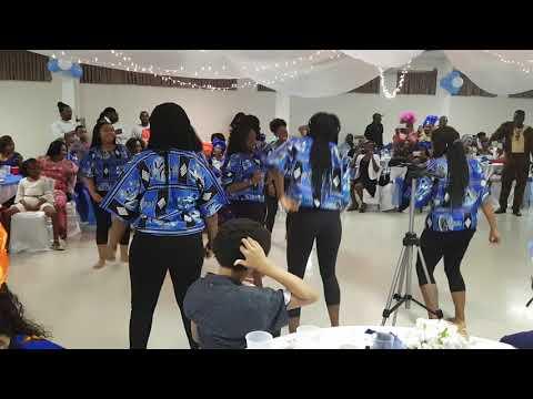 Sierra Leone Dance at 15th Wedding Anniversary