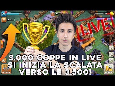 3000 COPPE in LIVE, si INIZIA la SCALATA verso le 3500 COPPE! | Nuovo Villaggio