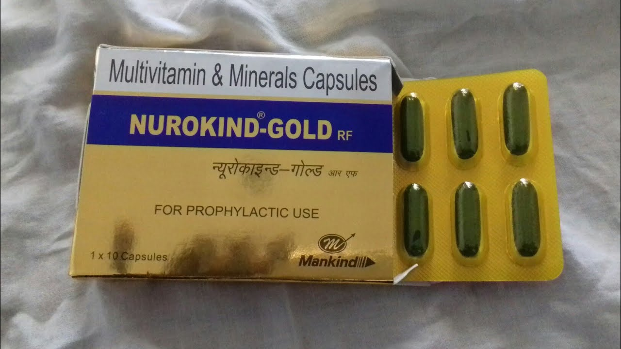Nurokind Gold Capsules Full Hindi Review Company Mankind Youtube