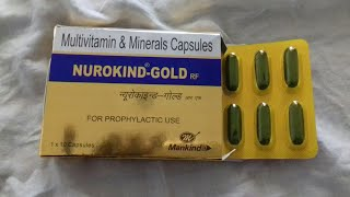 NUROKIND GOLD CAPSULES  FULL HINDI REVIEW . COMPANY MANKIND