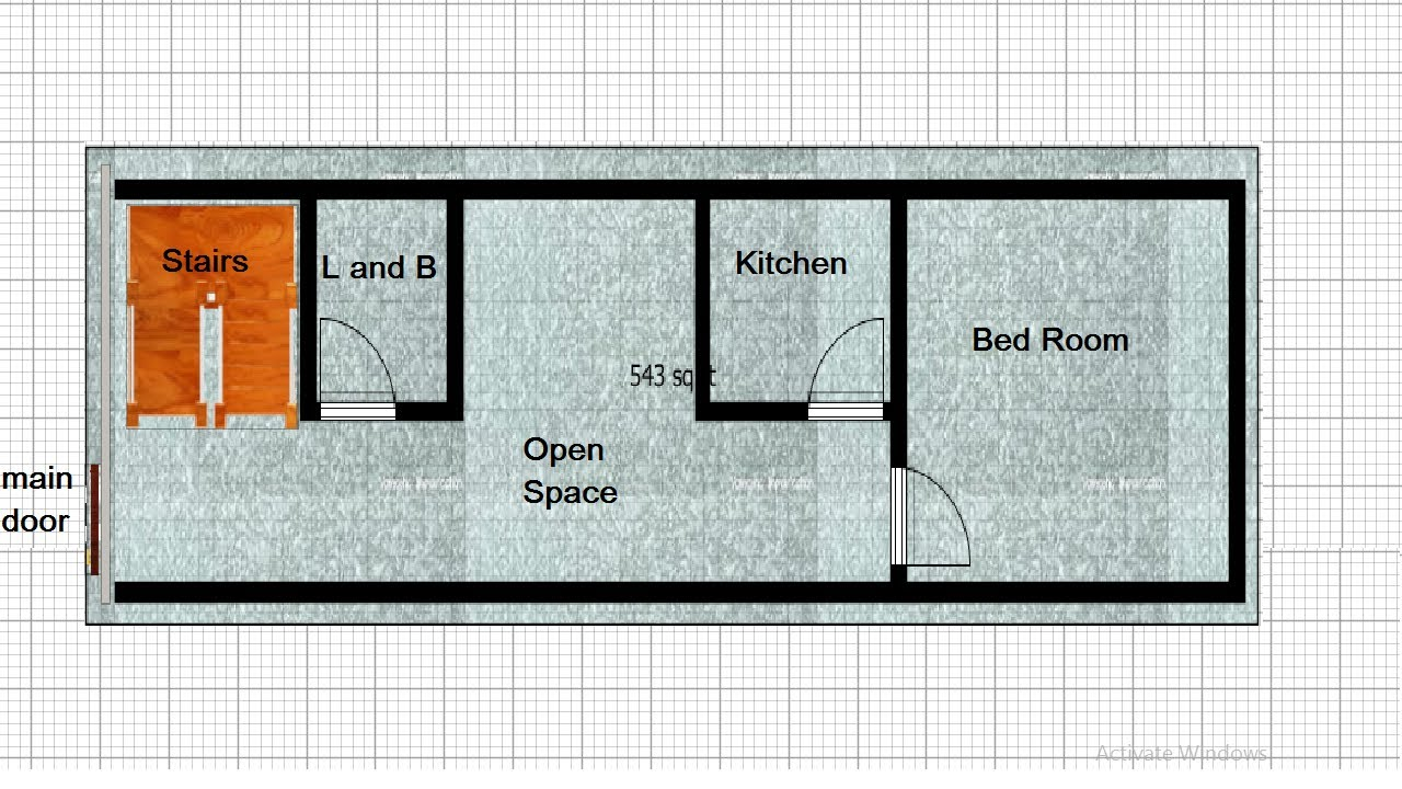 small house plan 11 BY 40 sqft,small home design 11 BY 40 sqft,11 BY 40 house plan