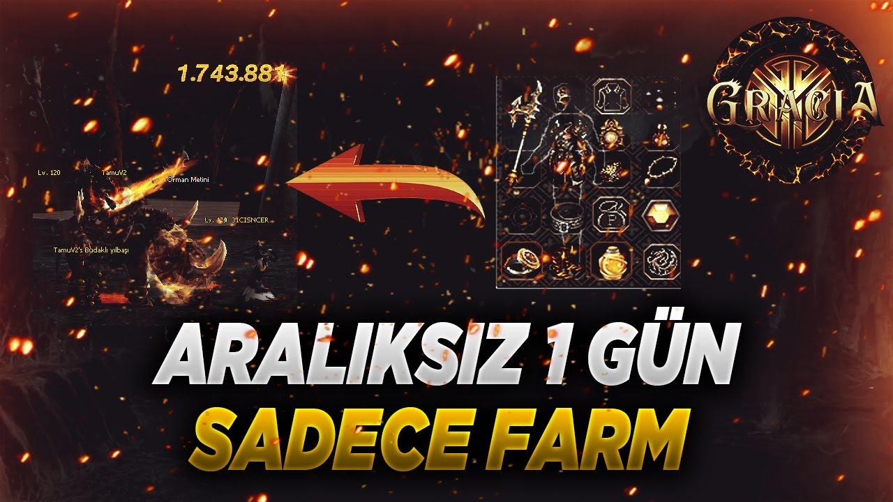 EFSANE METİN FARMI VE İÇ İTEMLER | +1.5 MİLYON MİLYAR DAMAGE ! | Gracia2 #2